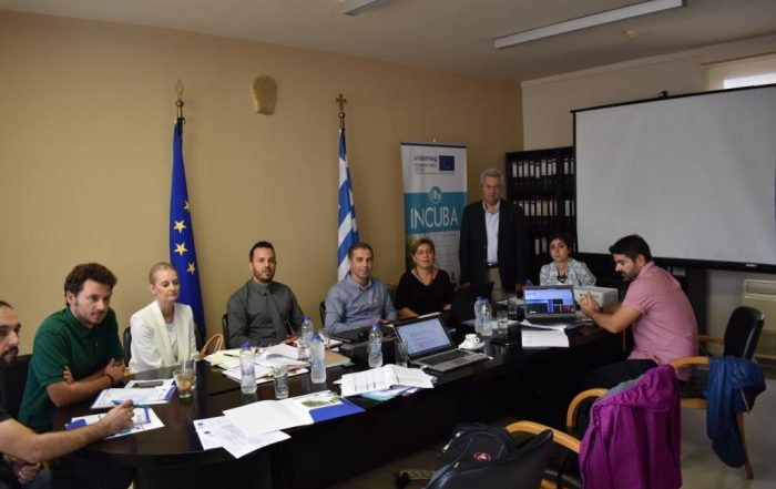 2nd Project Meeting of the European project INCUBA
