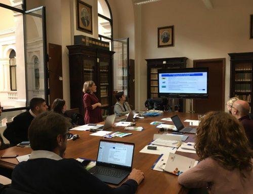 Παρουσίαση του μοντέλου λειτουργίας της θερμοκοιτίδας επιχειρήσεων σε φορείς της Περιφέρειας Απουλίας και εταίρους του προγράμματος #INCUBA