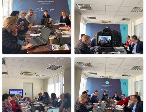 """Τρίτη συνάντηση της ομάδας εργασίας του Ευρωπαϊκού Προγράμματος """"Incuba – Διασυνοριακές αγροδιατροφικές θερμοκοιτίδες (Cross Border agrifood incubators)""""."""