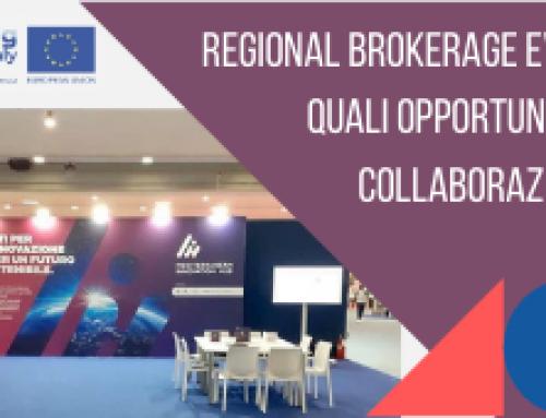 Regional brokerage event: quali opportunità di collaborazione?