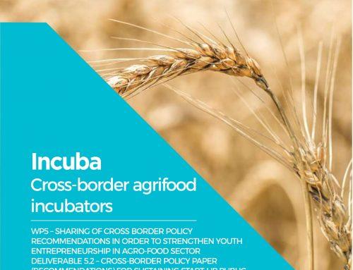 Incuba: pubblicato l'ultimo rapporto sulle politiche a supporto delle start-up agroalimentari